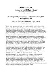 Rede des Fraktionsvorsitzenden Edgar Schurr - Die SPD in ...