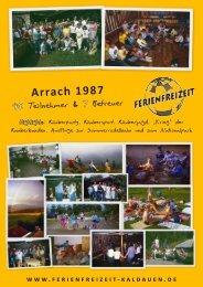 Chronik 25 Jahre Ferienfreizeit Kaldauen 1987 – 2012