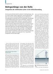 Bohrgestänge von der Rolle - Power Systems and High Voltage ...