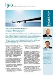 Change Management - HPO