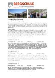 Lechquell Durchquerung - Bergschule Kleinwalsertal