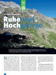 100 Jahre Tübinger Hütte - Deutscher Alpenverein