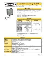 Hochintensitäts-Flächenbeleuchtung LED..A70XD4-.. - Banner ...