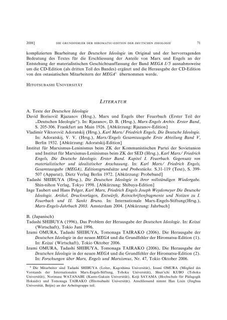 Title Die Grundfehler der Hiromatsu-Edition der ... - HERMES-IR