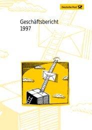 Geschäftsbericht 1997 - Deutsche Post DHL