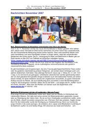 November 2007 - Evangelische Vereinigung für Bibel und ...