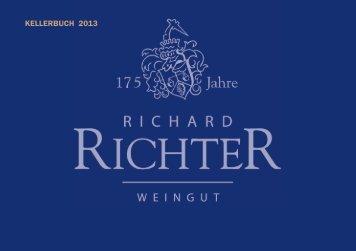 KELLERBUCH 2013 - Weingut Richter