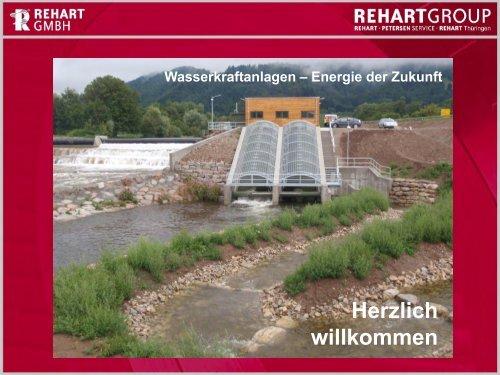 Wasserkraftanlagen – Energie der Zukunft - Rehart GmbH