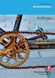 Broschüre «Arthrose - Vitagate