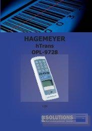 Download Manual OPL-9728 - PR Solutions GmbH