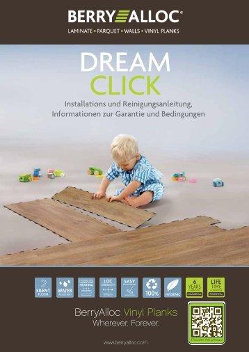 Installation DreamClick - BerryAlloc