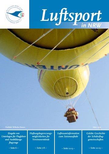 in NRW - Deutscher Aero Club Landesverband Nordrhein Westfalen ...