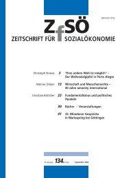 ZEITSCHRIFT FÜR SOZIALÖKONOMIE 134.