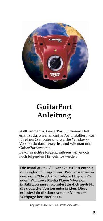 GuitarPort Deutsch