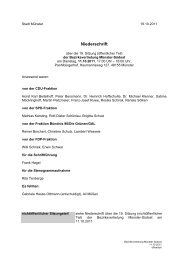 Niederschrift öffentlich mit - Sitzung 11.10.2011 19. Sitzung