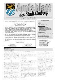 Nr. 06/2013 - Stadt Amberg