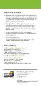 Puppenspiele Programm 2011-12b.indd - Stadt Ansbach - Seite 3