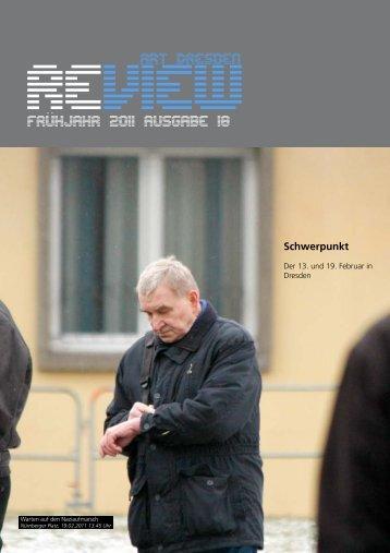 Review #18 Frühjahr 2011 - Alternative Dresden News