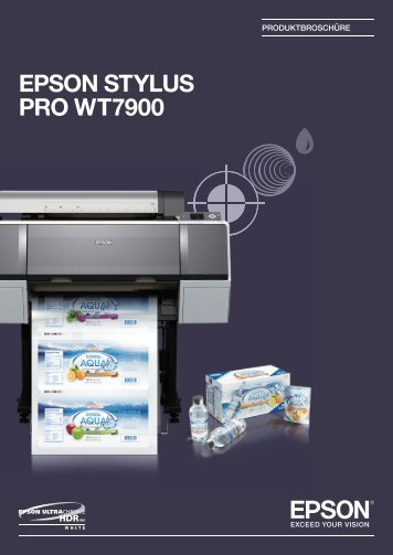 Produktdatenblatt Epson Stylus Pro WT7900 - Software-Software.de