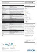 Produktdatenblatt Epson Stylus Pro WT7900 - Software-Software.de - Seite 4
