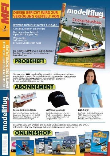 MFI 0311 Cockpit SX.pdf, Seiten 1-3 - Multiplex