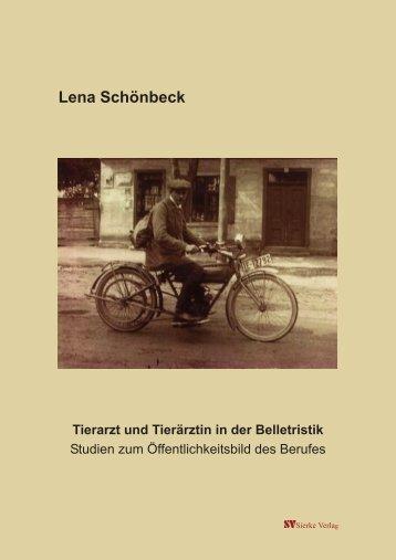 Lena Schönbeck - TiHo Bibliothek elib - Tierärztliche Hochschule ...