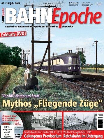 """Mythos """"Fliegende Züge"""""""