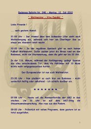 Page 1 1 Bodensee Bulletin Nr. 048 - Montag, 12. Juli 2010 ...