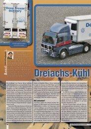 Testbericht aus Truckmodell - RC-Toy