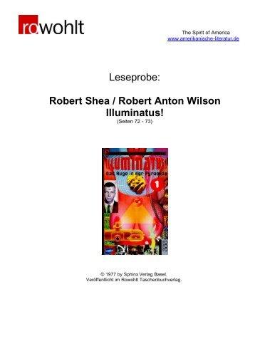 Robert Shea / Robert Anton Wilson Illuminatus! - Amerikanische ...