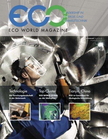 ECO WORLD MAGAZINE - Eco World Styria