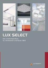 Download Gesamtkatalog Ausgabe 2013 - LUX SELECT