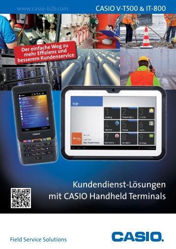Field Force Leaflet - CASIO Europe