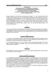 1 Die Grundgebühr II und die ... - Stadt Cuxhaven