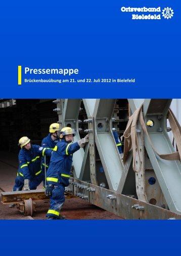 Pressemappe - (THW), Ortsverband Bielefeld