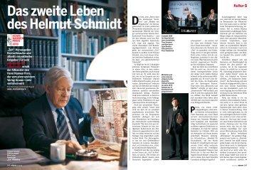 Das zweite Leben des Helmut Schmidt - Henri Nannen Preis