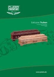 Exklusive Truhen - PLUDRA - FRANKFURT GmbH