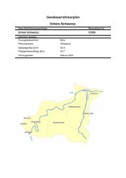Untere Schwarza Gewässerrahmenplan