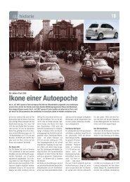 Fiat 500 Historie - Automagazin