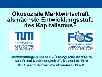 Download Präsentation - Hochschultage Ökosoziale Marktwirtschaft ...