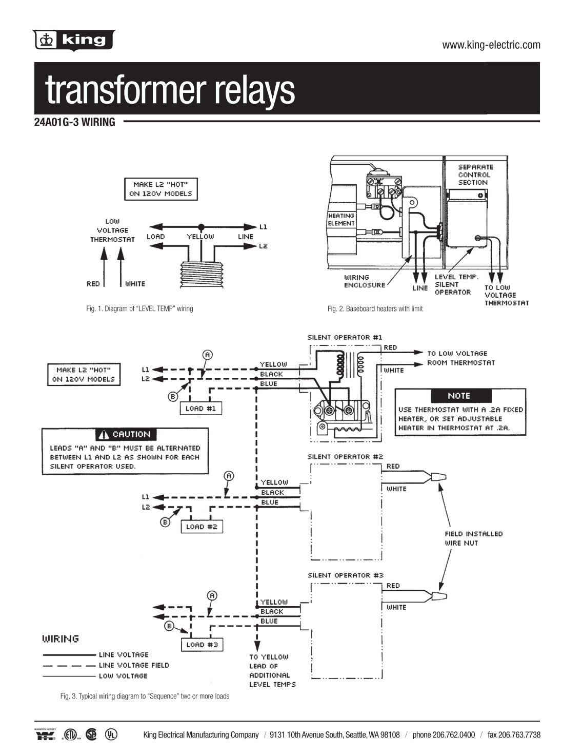 thermostat catalog 2012indd king electric?quality\\\\\\\\\=80 coleman furnace wiring diagram & click image for larger version coleman electric furnace wiring diagram at reclaimingppi.co