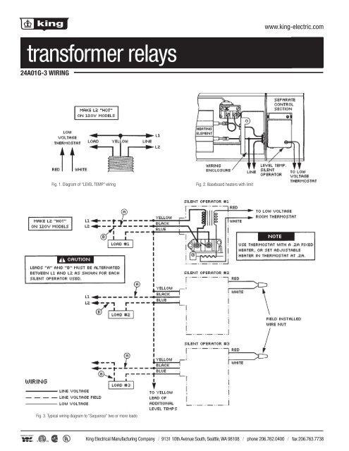 thermostat catalog 2012.indd - king electric  yumpu