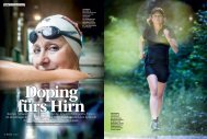 Rennen, Schwimmen, Velofahren – und das möglichst kompetitiv ...