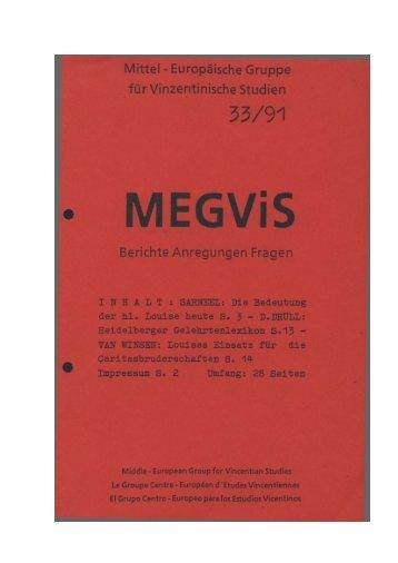 Mittel - Europäische Gruppe für Vinzentinische Studien ... - Lazaristen