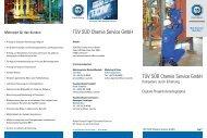 TÜV SÜD Chemie Service GmbH TÜV SÜD Chemie Service GmbH