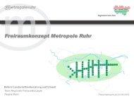 Vortrag - Metropole Ruhr