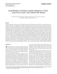 Foodborne Pathogens a... - CSIC