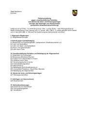 Stadt Maulbronn Enzkreis Polizeiverordnung gegen ...