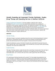 Connolly Counseling and Assessment - Mental health Provider Company in Southern California