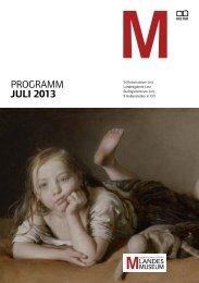 programm JULI 2013 - Oberösterreichisches Landesmuseum